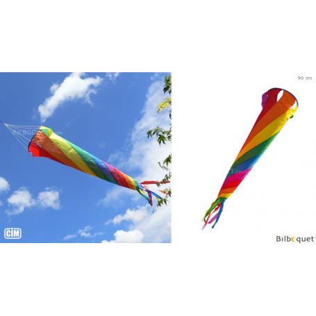 Turbine Arc-en-ciel 90cm - Jeu de vent