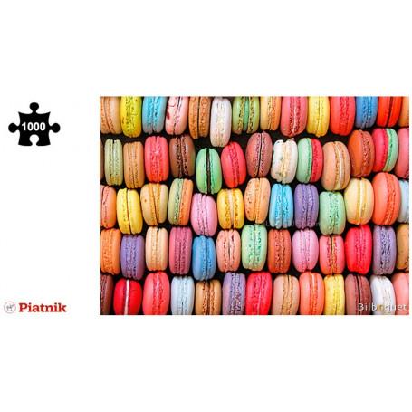 Puzzle 1000 pièces Macarons