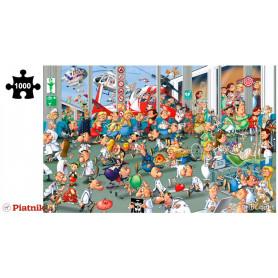 Puzzle 1000 pièces François Ruyer - Urgences