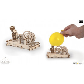Maquette mécanique Moteur Pneumatique - Ugears