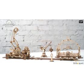 Maquette mécanique Manipulateur sur des rails - Ugears