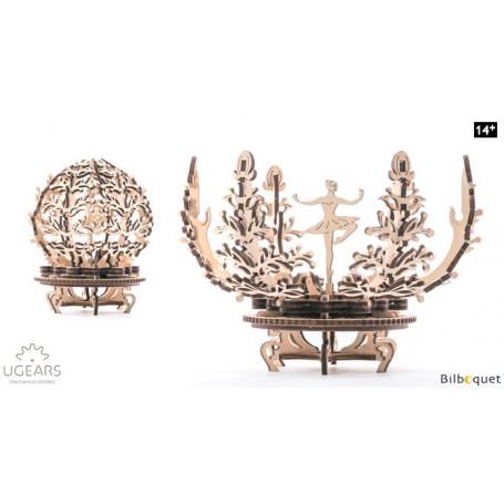 Maquette mécanique Boîte à fleur - Ugears