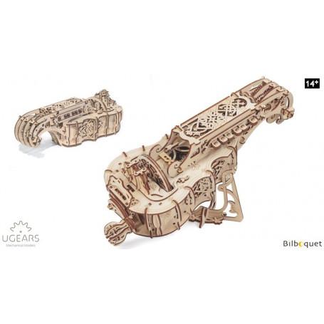 Maquette mécanique Vielle à roue - Ugears