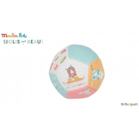 Ballon souple 10cm - Jolis trop beaux - Moulin Roty