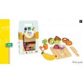 Fruits et légumes à découper - Jour de marché