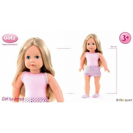 Poupée articulée Girl to dress - Poupée Precious Day Götz 46cm