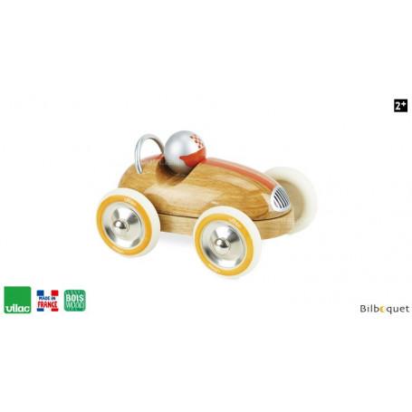 Voiture Roadster vintage bois naturel - Vilac