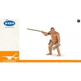 Homme préhistorique - Figurine dinosaure Papo