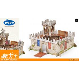 Le Château du Prince Philippe - Le monde médiéval - Papo