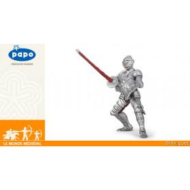 Chevalier en armure - Figurine Le monde médiéval - Papo