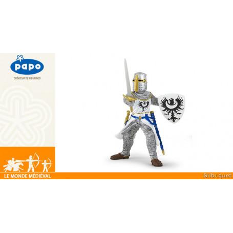 Chevalier blanc à l'épée - Figurine Le monde médiéval - Papo