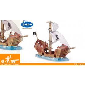 Le bateau pirate - Les pirates et corsaires - Papo