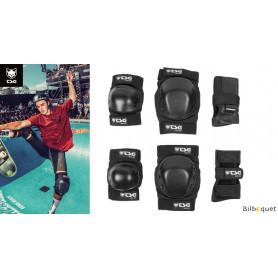Set de protection Basic noir pour skate