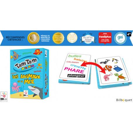 Les Animaux de la mer - Tam Tam Mix Max - Jeu de cartes