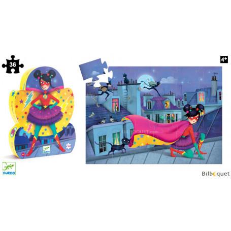 Puzzle Silhouette Super Star 36 pièces