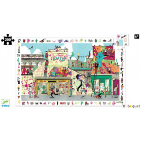Puzzle Observation Street Art (200 pièces)