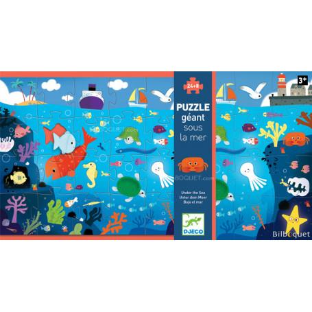 Puzzle géant Sous la mer 24 pièces