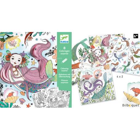 Coloriages surprises - Sous l'océan - Petits Cadeaux