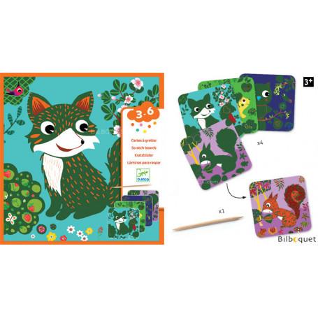 Cartes à gratter - Petites bêtes - Petits Cadeaux