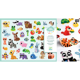 Bébés animaux - 306 gommettes
