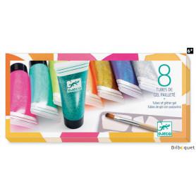 8 tubes de gel pailleté - Loisirs créatifs enfants