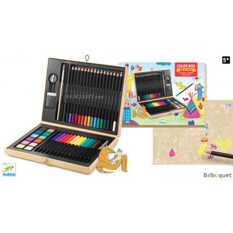 Grande boîte de couleurs - Loisirs créatifs enfants