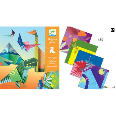 Origami facile - Dinosaures - Petits Cadeaux