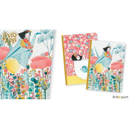 2 petits carnets Misa  - Papeterie Djeco