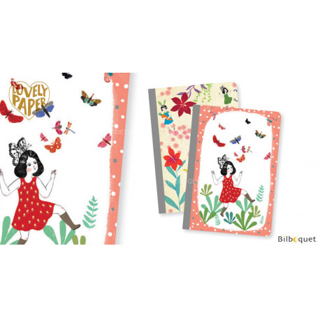 2 petits carnets Chichi - Papeterie Djeco