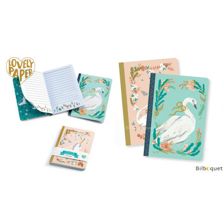 2 petits carnets Lucille - Papeterie Djeco