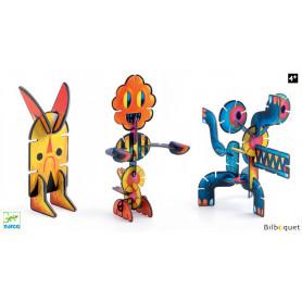Volubo Créatures - Jeu de construction 36 pièces