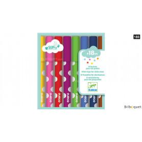8 feutres pour les petits - Design by Djeco