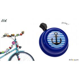 Sonnette de vélo Encre bleu - Liix Colour Bell Ø60mm