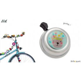 Sonnette de vélo Ours - Liix Colour Bell Ø60mm