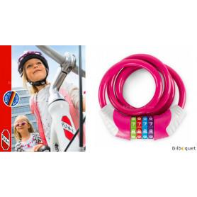 Cordon de sécurité/Cadena rose - Accessoire pour vélo Puky