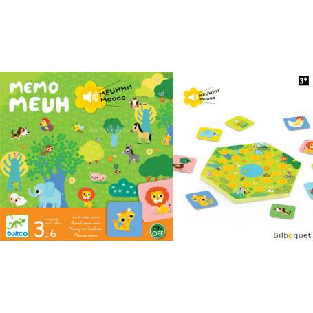 Memo Meuh - Jeu de mémo sonore