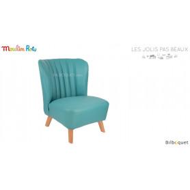 Fauteuil bleu - Les jolis pas beaux - Moulin Roty