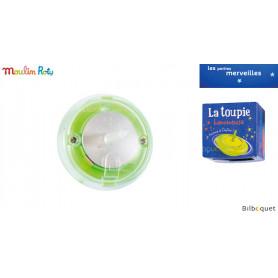 Toupie lumineuse verte - Les petites merveilles