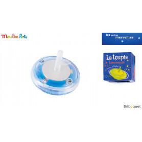 Toupie lumineuse bleue - Les petites merveilles