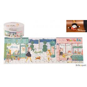 Puzzle Dans la rue 140 pièces - Les Parisiennes