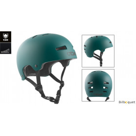 Casque TSG Evolution - Solid color - Satin Forest