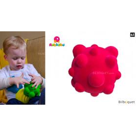 Balle sensorielle - Balle rose - Rubbabu