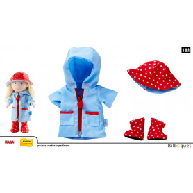 Ensemble de vêtements Temps de pluie - Accessoires pour poupées