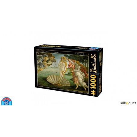Puzzle d'art 1000 pièces - Botticelli - Naissance de Vénus