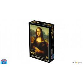 Puzzle d'art 1000 pièces - Leonardo da Vinci - Mona Lisa