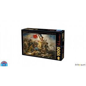 Puzzle d'art 1000 pièces - Eugène Delacroix - La liberté guidant le peuple