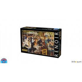Puzzle d'art 1000 pièces - Pierre-Auguste Renoir - Déjeuner du bateau