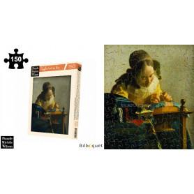 La Dentellière - Vermeer - Puzzle d'art en bois 150 pièces