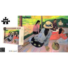 La sieste - Gauguin - Puzzle d'art en bois 350 pièces