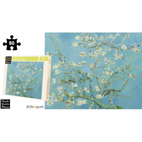 Branches d'amandier - Van Gogh - Puzzle d'art en bois 80 pièces